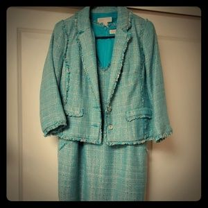 MICHAEL Michael Kors Tweed Jacket & Dress